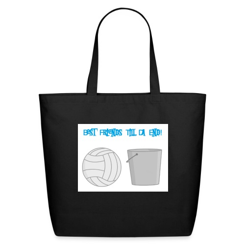 Best Friends Till the End! - Eco-Friendly Cotton Tote