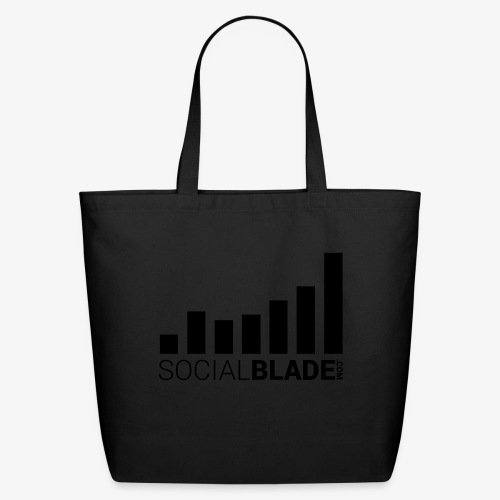 Socialblade (Dark) - Eco-Friendly Cotton Tote