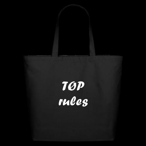 TØP rules - Eco-Friendly Cotton Tote