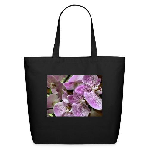 Purple Flower Beauties - Eco-Friendly Cotton Tote