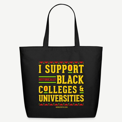 I Support HBCUs - Eco-Friendly Cotton Tote