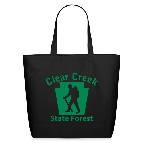 Clear Creek State Forest Keystone Hiker male - Eco-Friendly Cotton Tote