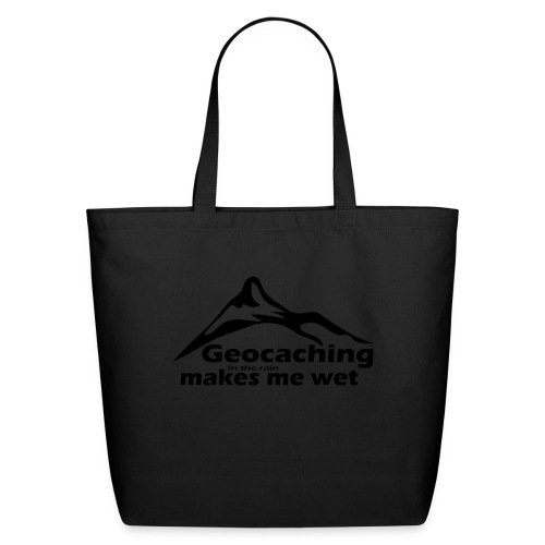 Wet Geocaching - Eco-Friendly Cotton Tote