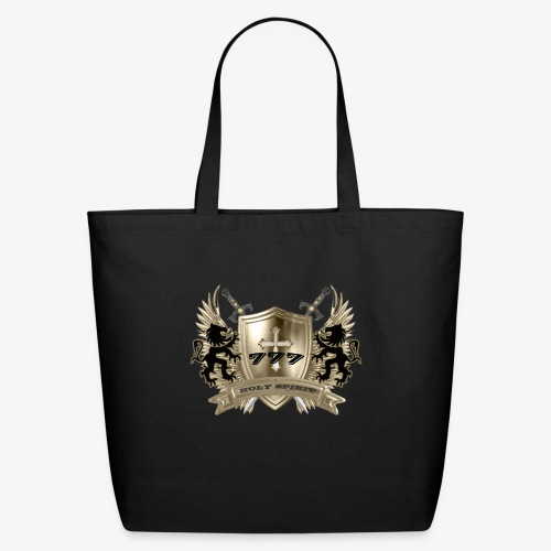 HOLY SPIRIT GOLD SHIELD - Eco-Friendly Cotton Tote