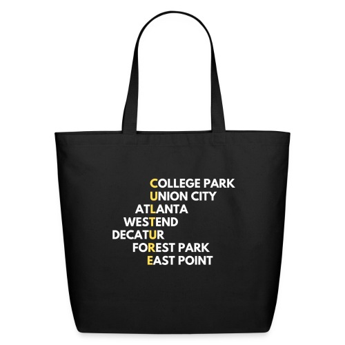 Culture Atlanta - Eco-Friendly Cotton Tote