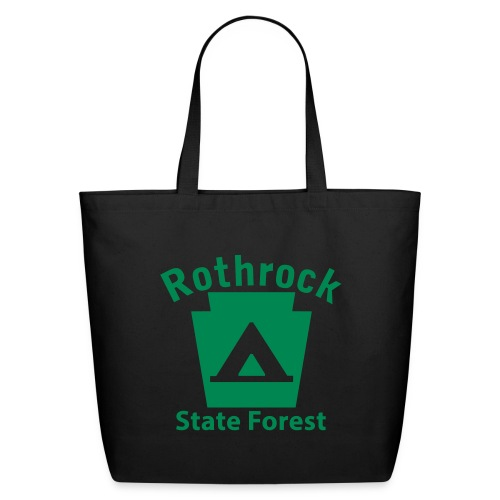Rothrock State Forest Camping Keystone PA - Eco-Friendly Cotton Tote