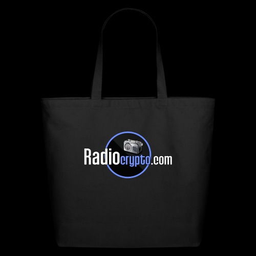 RadioCrypto Logo 1 - Eco-Friendly Cotton Tote