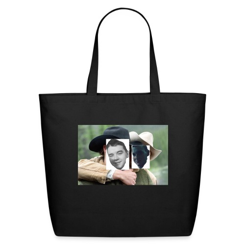 Darien and Curtis Camping Buddies - Eco-Friendly Cotton Tote