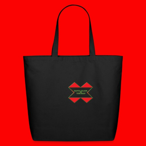 SANTA CLAUS IS THE MAN - Eco-Friendly Cotton Tote