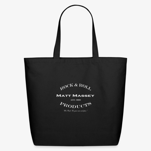 Matt Massey Rock Products - Eco-Friendly Cotton Tote