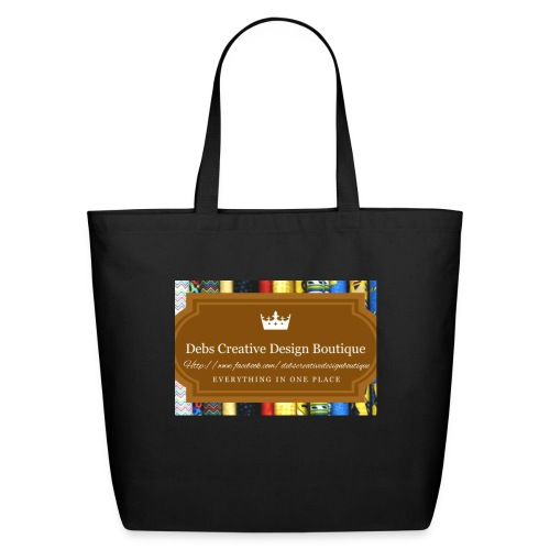Debs Creative Design Boutique with site - Eco-Friendly Cotton Tote