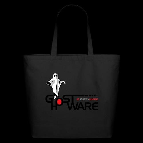 Ghostware Wide Logo - Eco-Friendly Cotton Tote