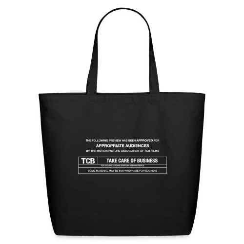 TCB Films Disclamer - Eco-Friendly Cotton Tote