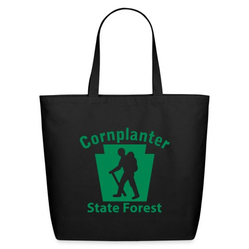 Cornplanter State Forest Keystone Hiker male - Eco-Friendly Cotton Tote