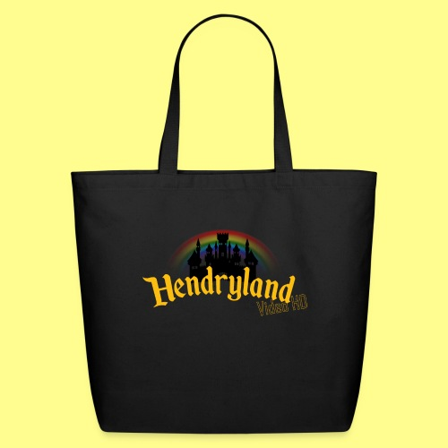 HENDRYLAND logo Merch - Eco-Friendly Cotton Tote