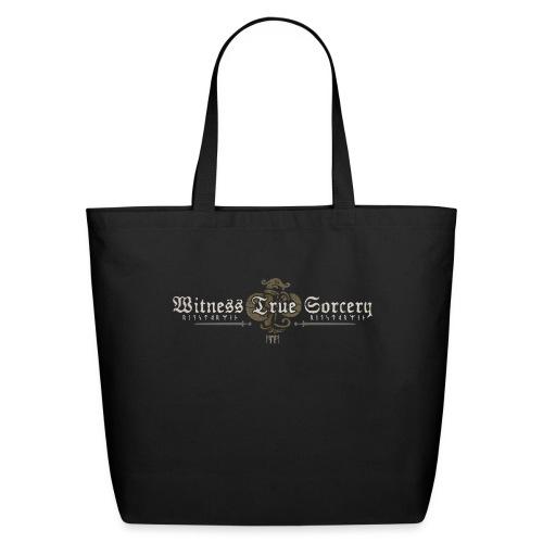 Witness True Sorcery Logo - Eco-Friendly Cotton Tote