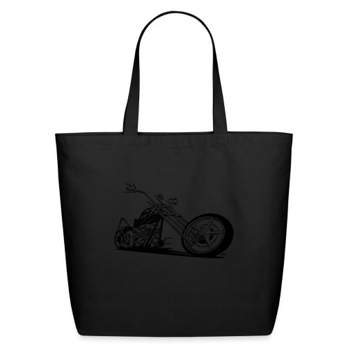 Custom American Chopper Motorcycle - Eco-Friendly Cotton Tote