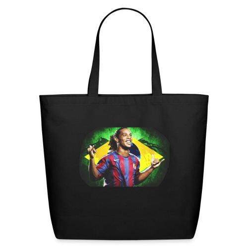 Ronaldinho Brazil/Barca print - Eco-Friendly Cotton Tote