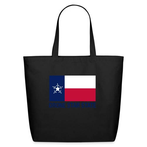 Drone Star State - Long Sleeve - Eco-Friendly Cotton Tote