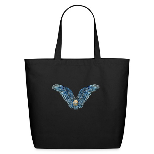 Wings Skull - Eco-Friendly Cotton Tote