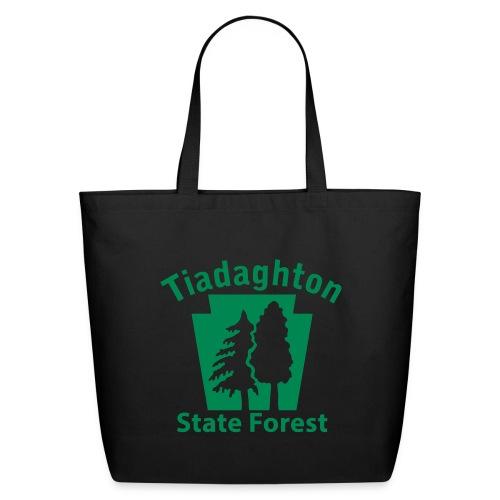 Tiadaghton State Forest Keystone (w/trees) - Eco-Friendly Cotton Tote