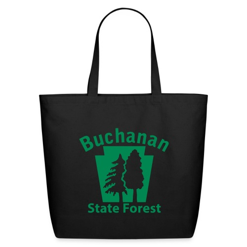 Buchanan State Forest Keystone (w/trees) - Eco-Friendly Cotton Tote