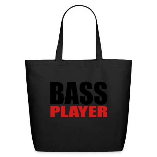 Bass Player - Eco-Friendly Cotton Tote