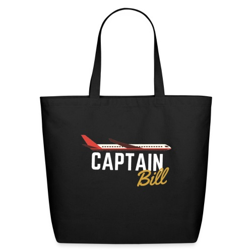 Captain Bill Avaition products - Eco-Friendly Cotton Tote