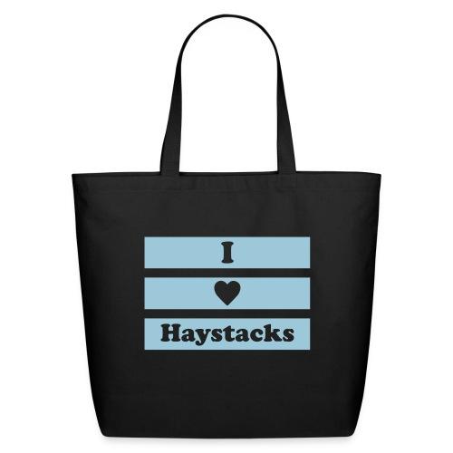 haystack 1 color vector - Eco-Friendly Cotton Tote