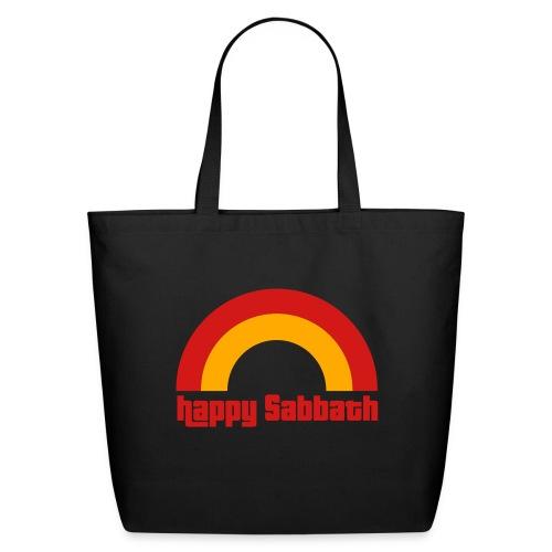 Happy Sabbath 2 Color - Eco-Friendly Cotton Tote