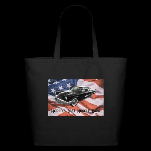 World's Best Muscle Cars - Eco-Friendly Cotton Tote