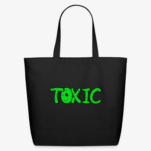 Toxic design - Eco-Friendly Cotton Tote