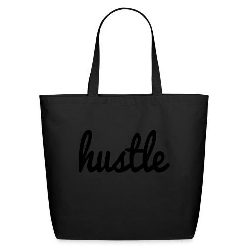 hustle vector - Eco-Friendly Cotton Tote