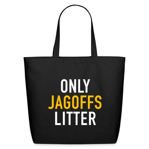 only jags litter - Eco-Friendly Cotton Tote