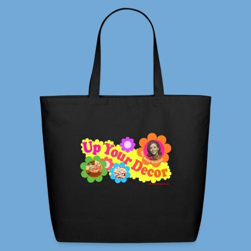 Up Your Decor logo. - Eco-Friendly Cotton Tote