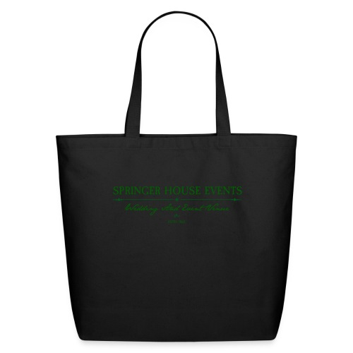 Springer House Events Sign Green - Eco-Friendly Cotton Tote