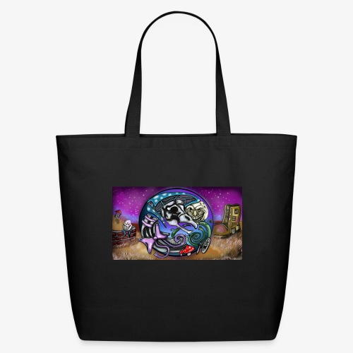 Mother CreepyPasta Land - Eco-Friendly Cotton Tote