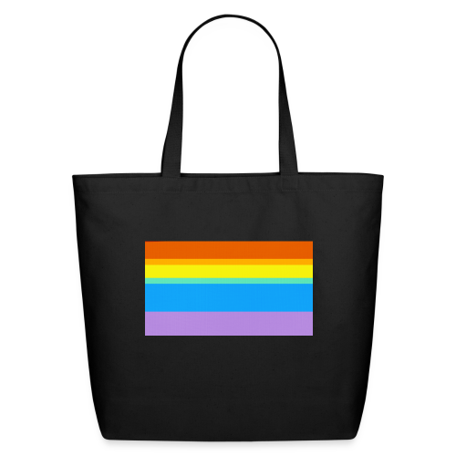 Modern Rainbow II - Eco-Friendly Cotton Tote