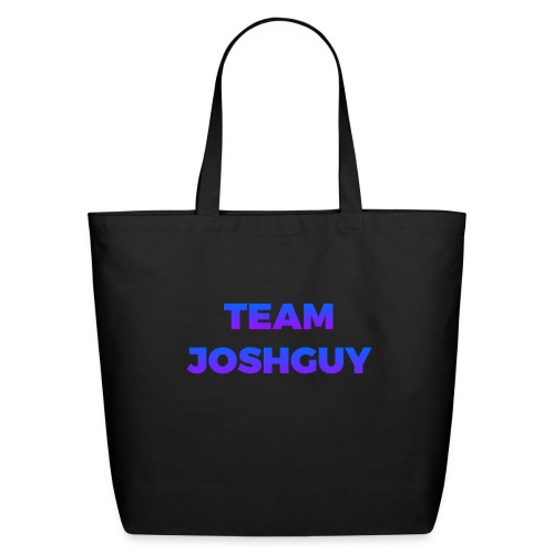 Team JoshGuy - Eco-Friendly Cotton Tote