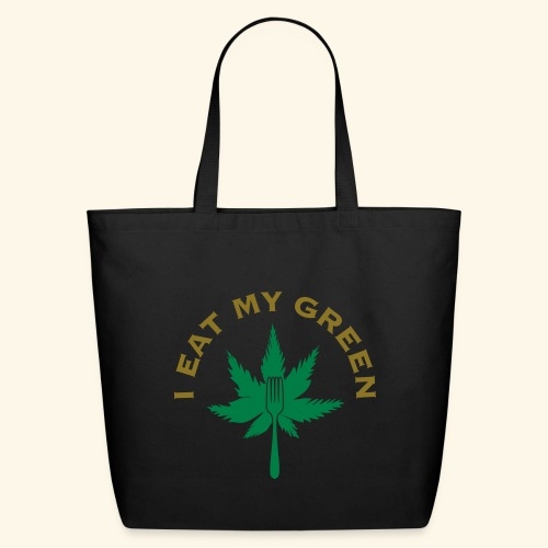 I Eat My Green - Eco-Friendly Cotton Tote