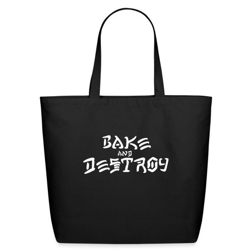 Vintage Bake and Destroy - Eco-Friendly Cotton Tote