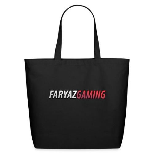 FaryazGaming Text - Eco-Friendly Cotton Tote