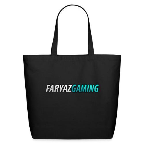 FaryazGaming Theme Text - Eco-Friendly Cotton Tote