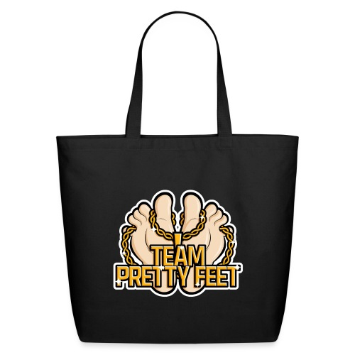 Team Pretty Feet™ Gold Chain - Eco-Friendly Cotton Tote