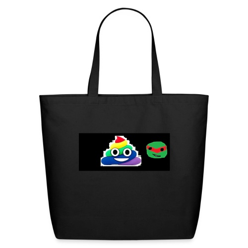 ninja poop - Eco-Friendly Cotton Tote