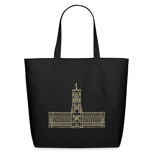 Red City Hall Berlin - Eco-Friendly Cotton Tote