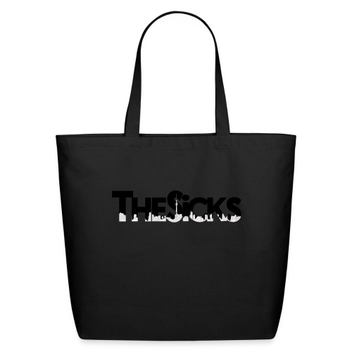 The Sicks - logo black - Eco-Friendly Cotton Tote