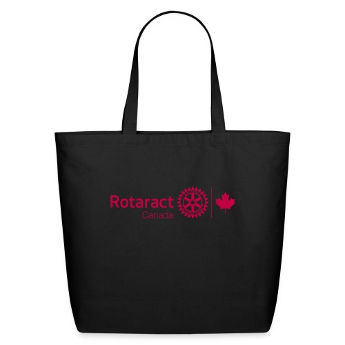 Rotaract Canada Cranberry Double Masterbrand - Eco-Friendly Cotton Tote