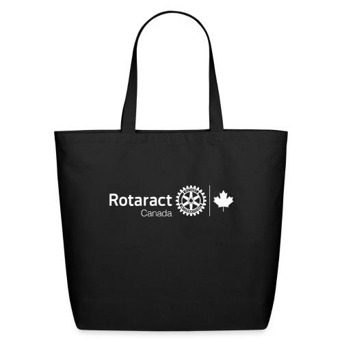Rotaract Canada White Double Masterbrand - Eco-Friendly Cotton Tote