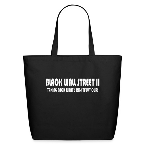 BWSII white - Eco-Friendly Cotton Tote